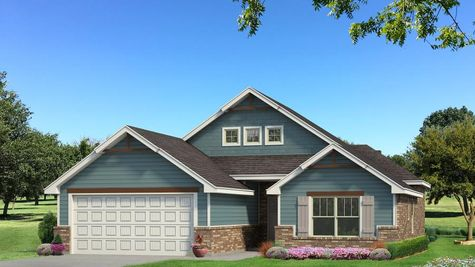 Homes by Taber Hunter A2 Elevation - Aqua