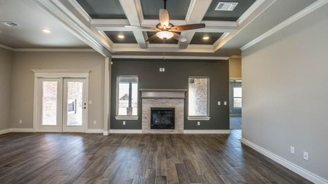 Homes by Taber Example of Shiloh Bonus Room Floorplan
