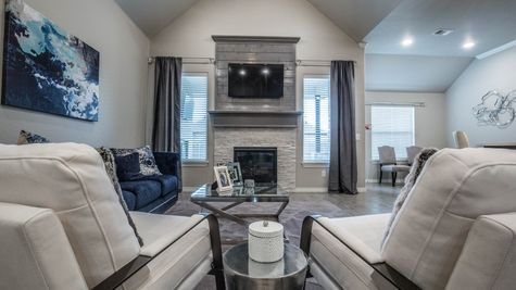 Homes by Taber Sage Bonus Room 1 Floor Plan - Frisco Ridge Model Home
