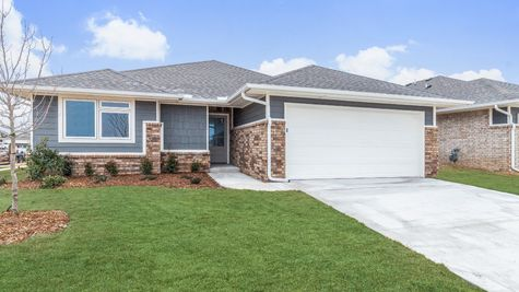 Homes by Taber Teagan B Elevation - 9100 NW 119th St