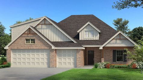 Homes by Taber Example of Blue Spruce Bonus Room 1 PLUS Floorplan