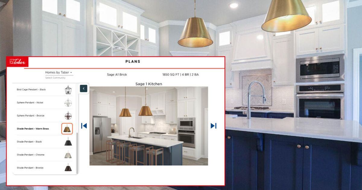 Build Your Home Online With Interactive Floor Plan Tool Homes By Taber