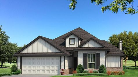 Homes by Taber A Siding Elevation - Black and White