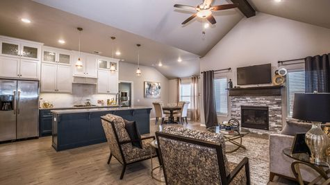 Homes by Taber Example of Blue Spruce Floorplan