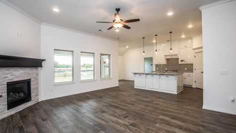Homes by Taber Example of Hazel Bonus Room Floorplan