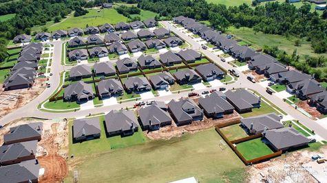New Homes in Mustang in Scissortail Springs