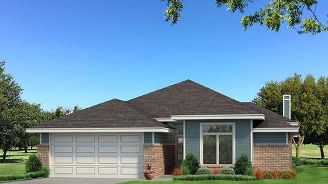 Homes by Taber B Elevation - Aqua