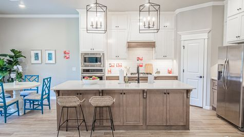 Homes by Taber Shiloh Floor Plan-Britton Farms Model Home