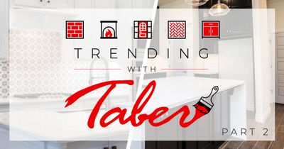 interiors with trending with taber logo