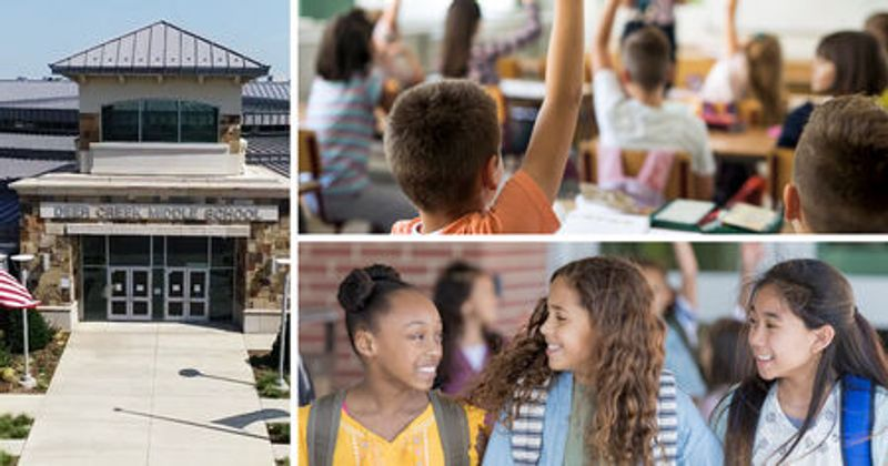 Montage of Deer Creek Schools images