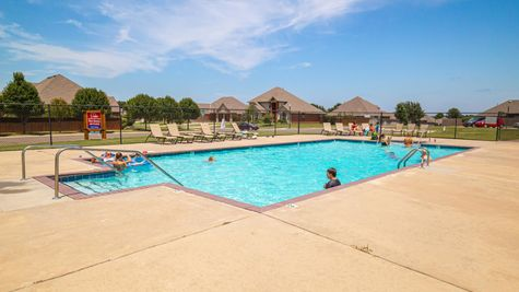 Homes by Taber Highland Village Pool