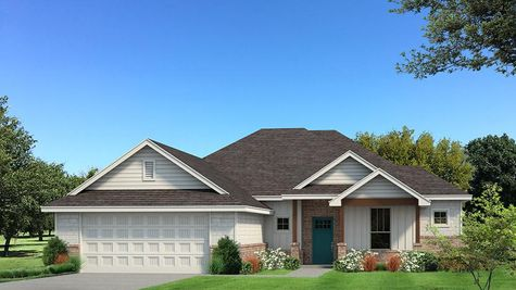 Homes by Taber Jameston Siding Elevation