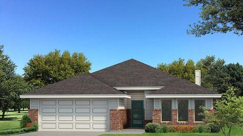 Homes by Taber Kamber B Elevation Floor Plan - Pop of Color