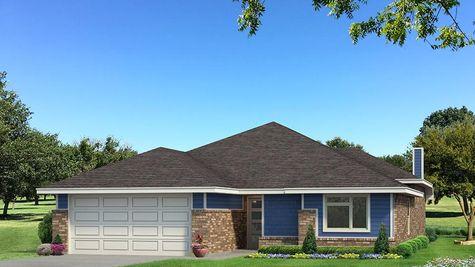 Homes by Taber Teagen B Elevation - Royal Blue
