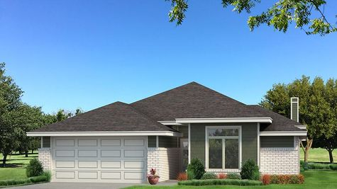 Homes by Taber B Elevation - Green