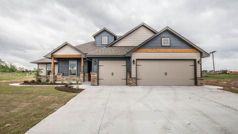 Homes by Taber Example of Hazel Floorplan
