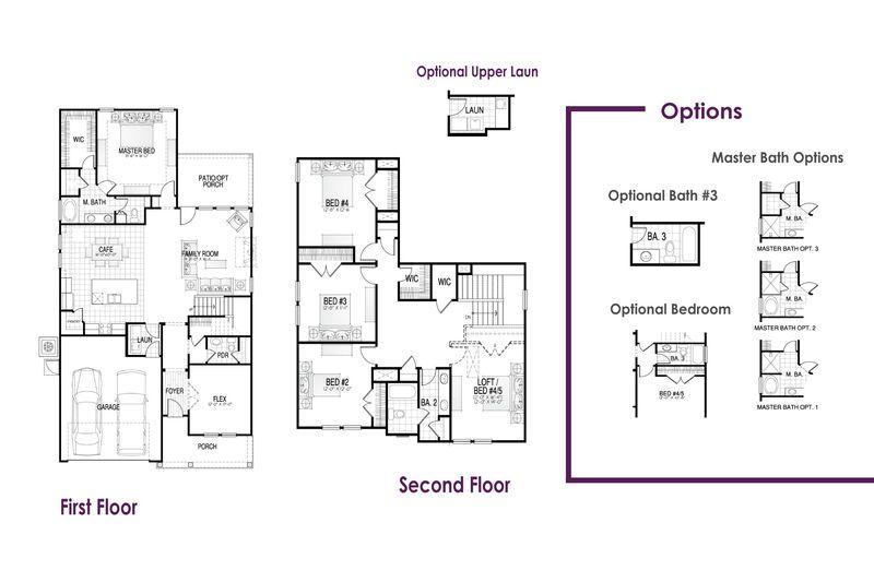 Saluda II Floor Plan