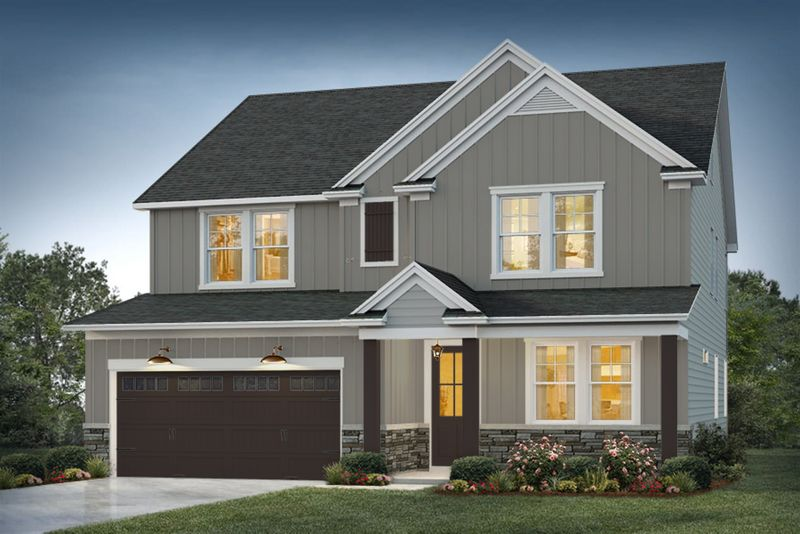 Maywood Elevation 1 Atlantic Shore Color Package