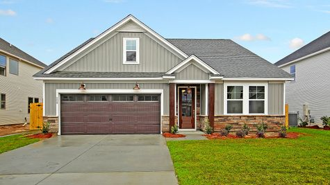 Pimlico Elevation 1 Echo Bay Color Package