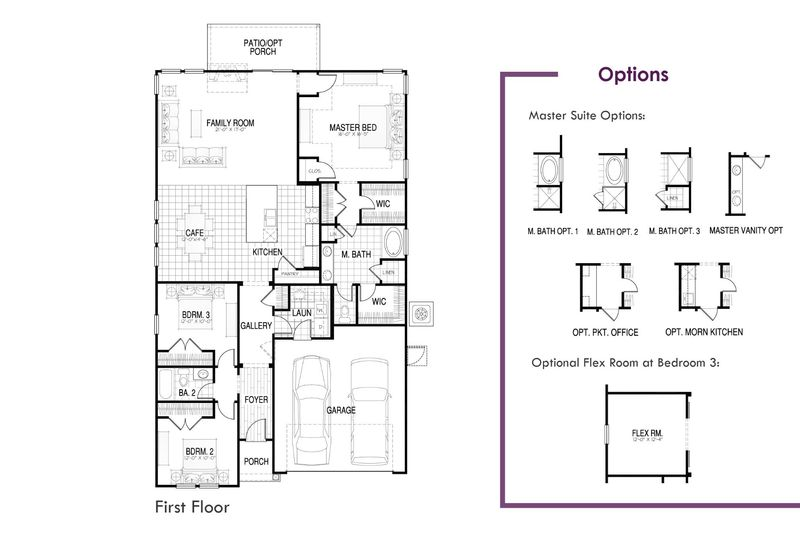 Keeneland Floor Plan