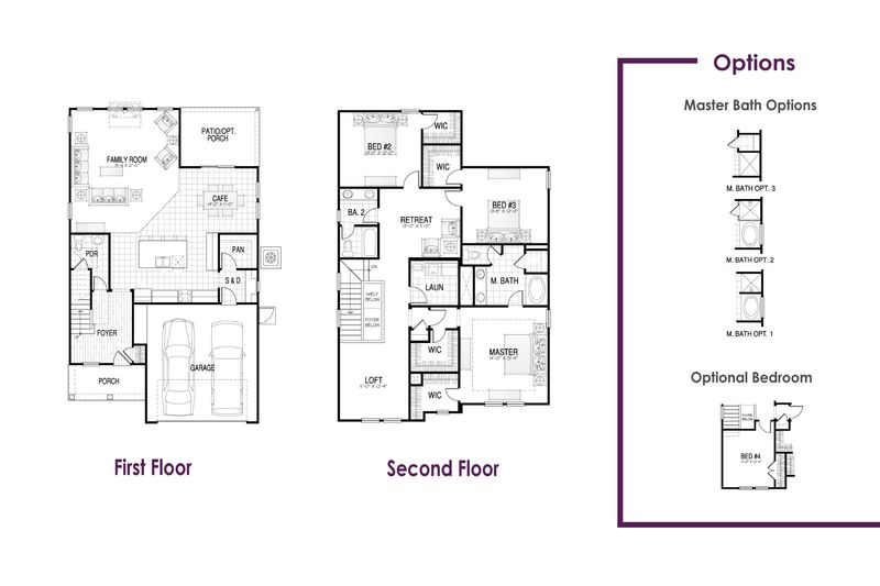 Florence I Floor Plan