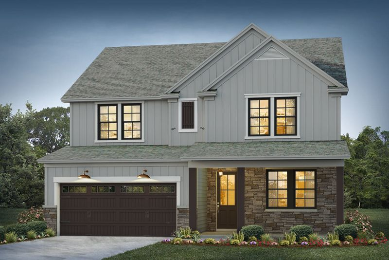Belmont Elevation 1 Fair Isle Color Package