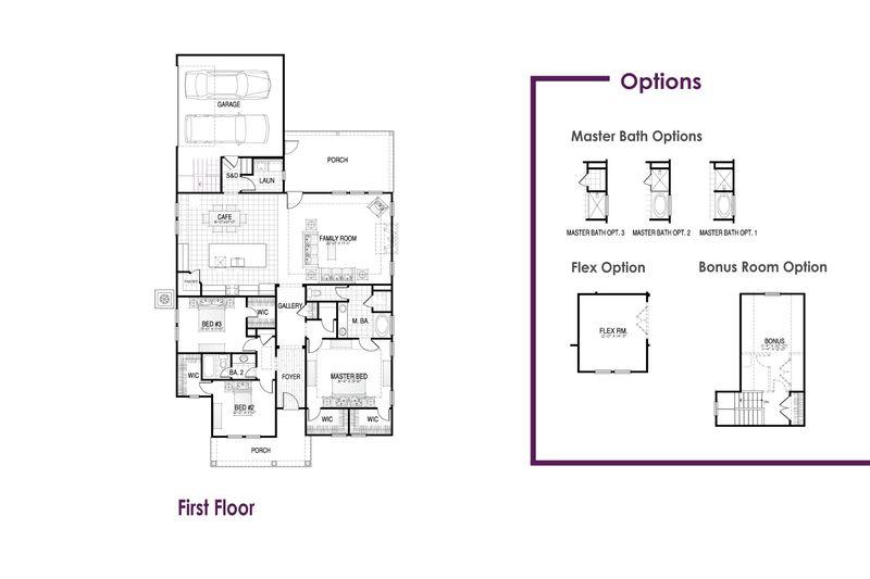 Ashford II Floor Plan