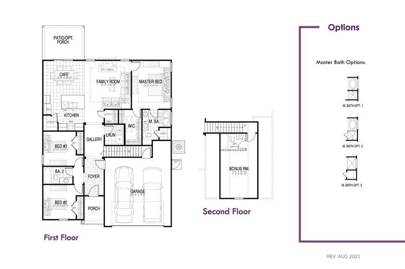Newberry II Floor Plan