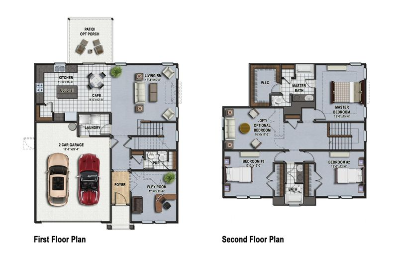 Colleton Floor Plan