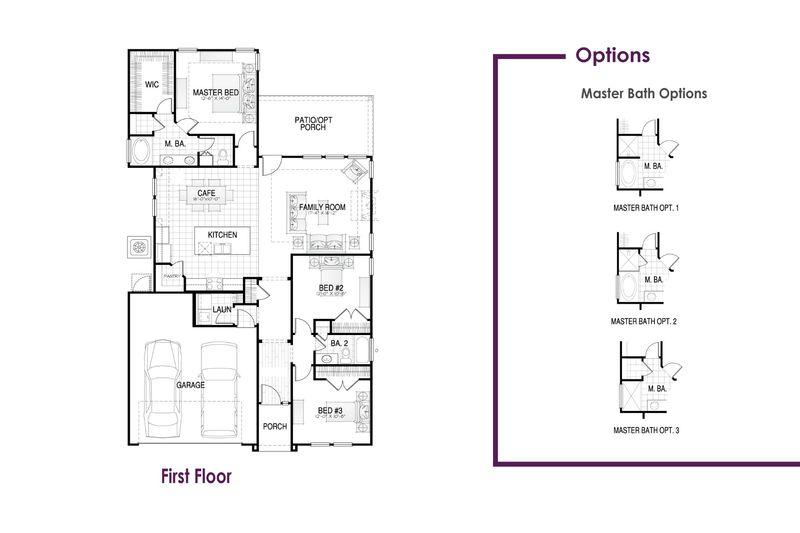 Allendale I Floor Plan