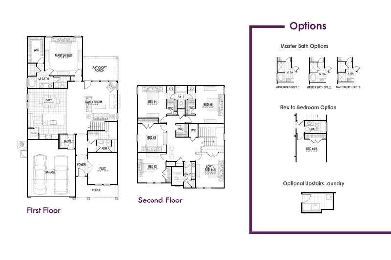 Beaufort Floorplan