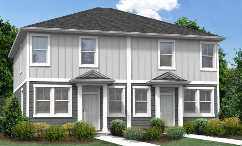 Magnolia Duplex Elevation A
