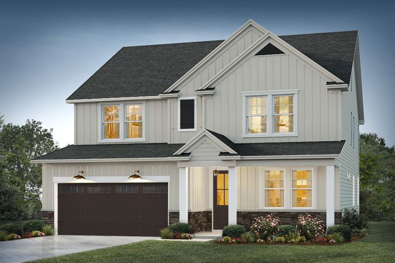 Maywood Elevation 1 Cape Cod Color Package