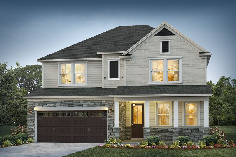 Belmont Elevation 2 Cape Cod Color Package