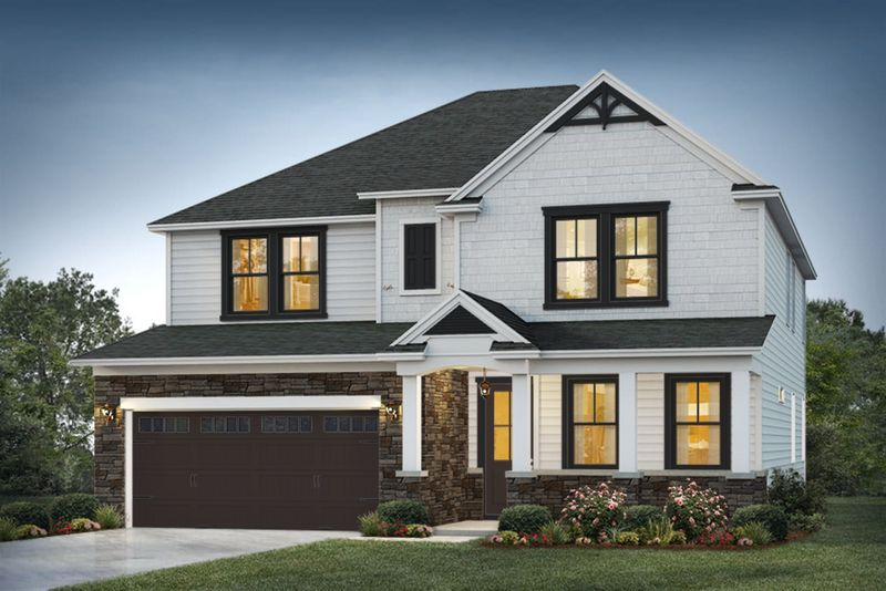 Maywood Elevation 2 Homestead Color Package