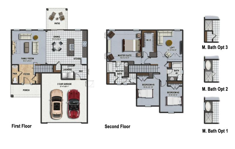 Dillon II Floor Plan