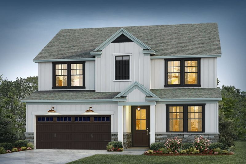 Church Hill Elevation 1 Deep Dive Color Package