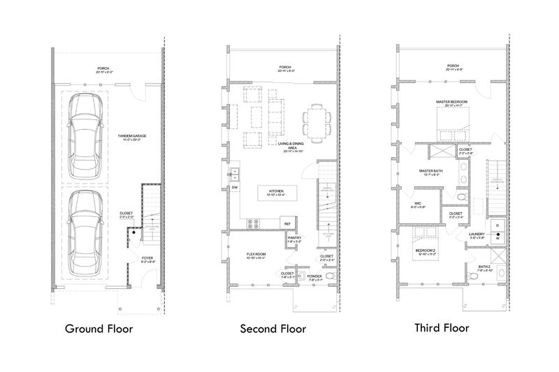 Chelsea Raised- 2 Bedroom Floor Plan