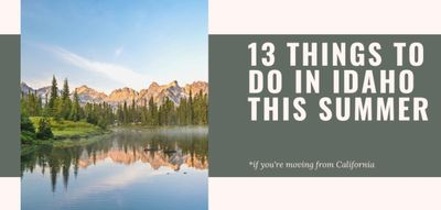 13 Things To Do In Idaho This Summer