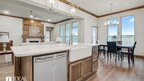 Bradford kitchen - new home in Edmond or Norman