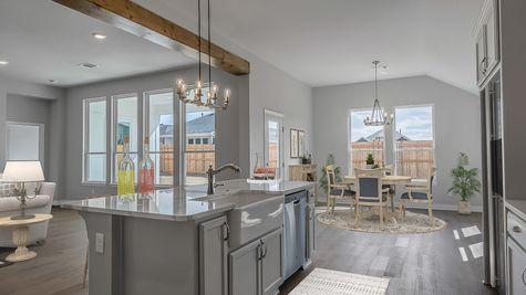 Pendleton Kitchen, Dining & Living Room