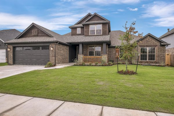 Bradford Elevation A new home in Edmond or Norman