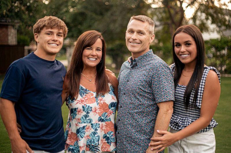 Vernon McKown and family