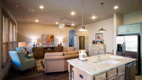 Kendall Living Room and Kitchen