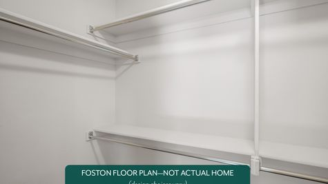 Foston Master Walk-In Closet