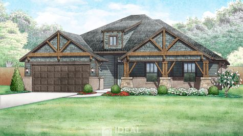 Langley Mountain Cottage - Elevation A