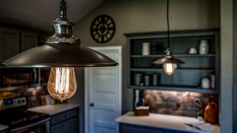 Edison Kitchen Island Pendant Lighting