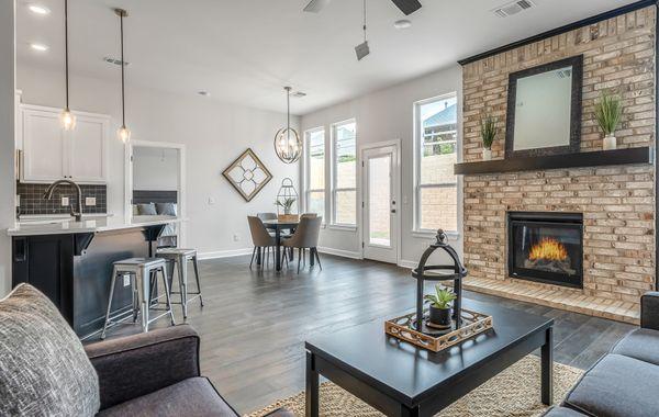 Hendrix Living Room, Kitchen & Dining