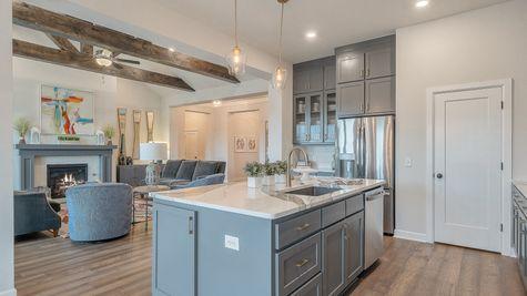 Orwell Kitchen & Living Room