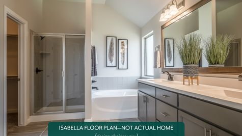 Isabella Master Bathroom